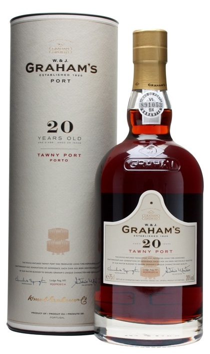 Grahams 20 years Tawny Port 0,75L 20% dd.