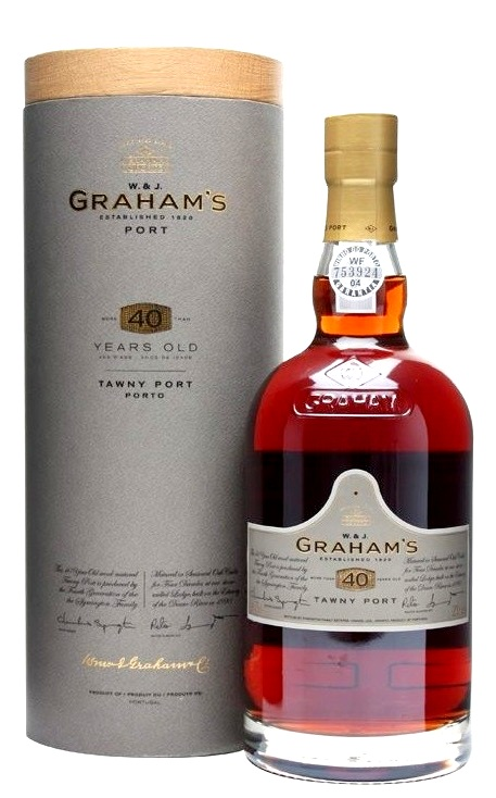Grahams 40 years Tawny Port 0,75L 20% dd.